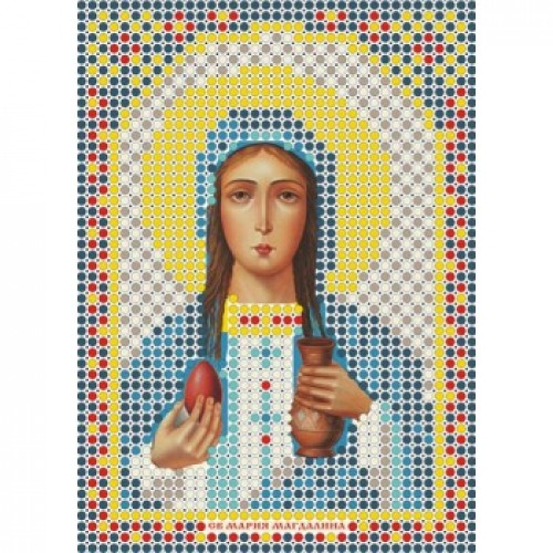 """Набор для вышивки бисером-Икона- """"Св. Мария Магдалина""""- ММ-013"""