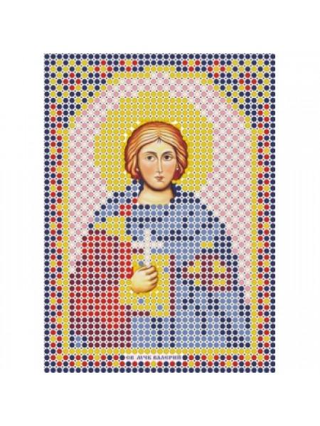 """Набор для вышивки бисером-Икона- """" Св. Мученик Валерий""""- ММ-019"""