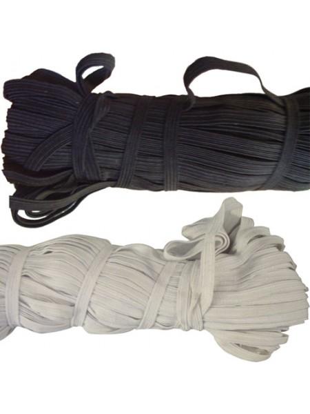 Резинка бельевая  (продержка),белая,6мм,цена за 1 метр