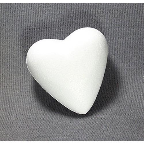 Сердце из пенопласта,10 см