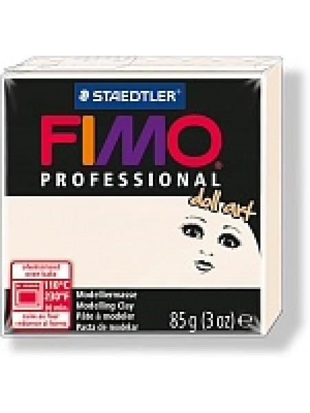 Полимерная глина FIMO professional doll art 85гр(Германия)-полупрозрачный фарфор