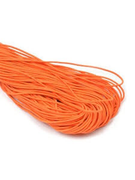 Резинка шляпная, 2мм,оранжевая,цена за 1 метр