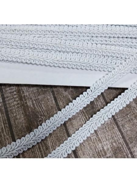 Тесьма Булет,цв-белый. шир 11 мм,цена за 1 м