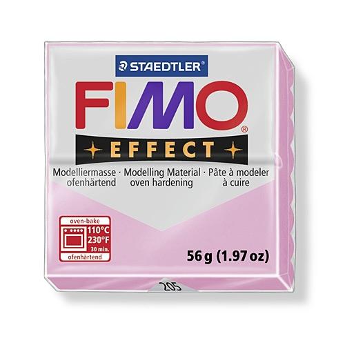 Полимерная глина FIMO effect Pastel, светло-розовый,57гр