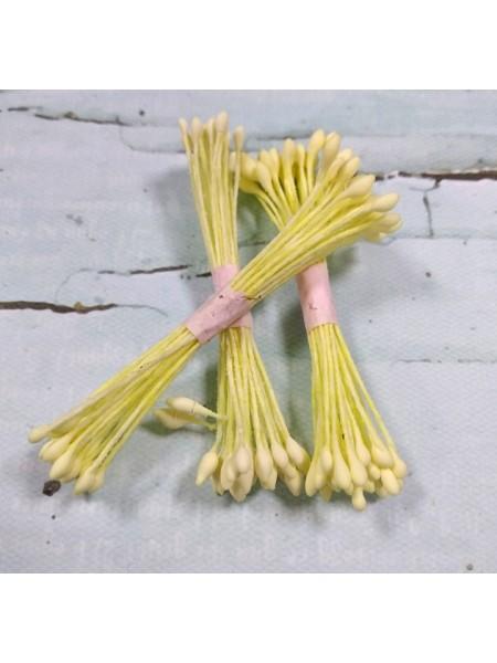 Тайские тычинки каплевидные,светло-желтые