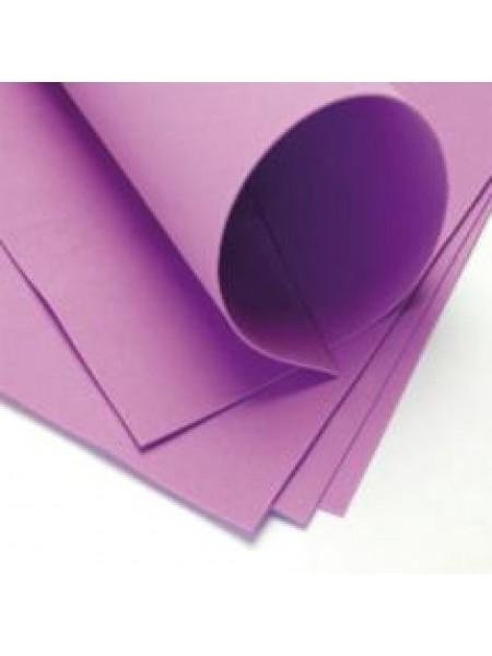 Фоамиран 2мм,светло-фиолетовый, цена за 1 лист