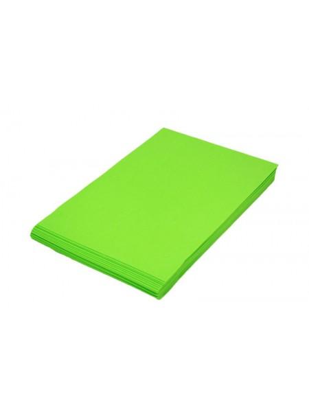 Фоамиран 2мм,Светло зелёный, цена за 1 лист