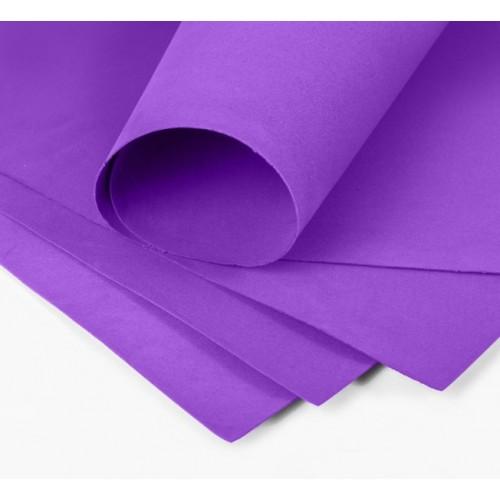 Фоамиран 2мм,тёмно-фиолетовый, цена за 1 лист