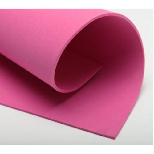 Фоамиран 2мм, тёмно-розовый цена за 1 лист