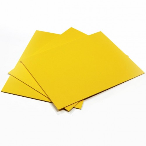 Фоамиран 2мм,Жёлтый, цена за 1 лист