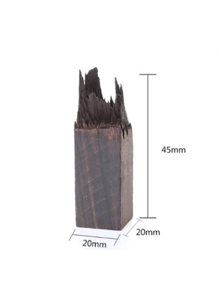 Деревянная заготовка для эпоксидной смолы, 20*20*45 мм