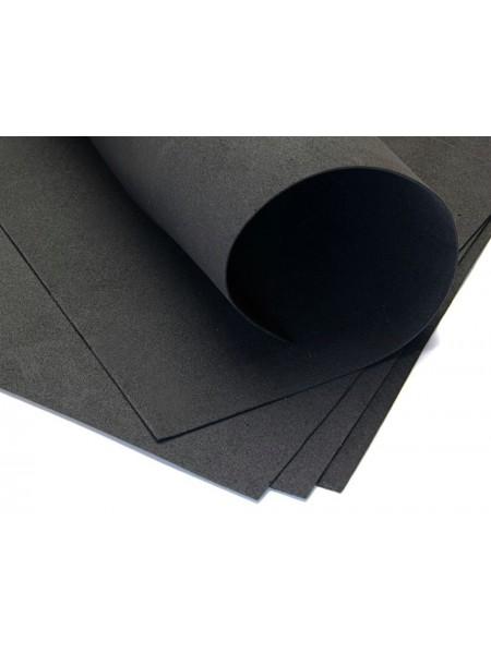 Зефирный фоамиран.чёрный, 50*50 см