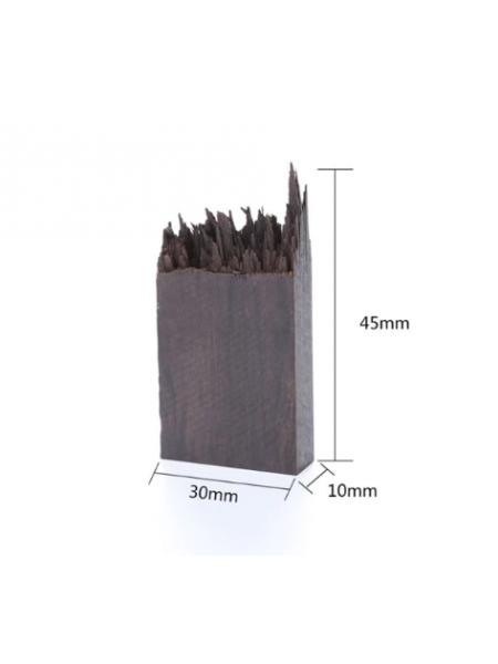 Деревянная заготовка для эпоксидной смолы, 30*10*45 мм