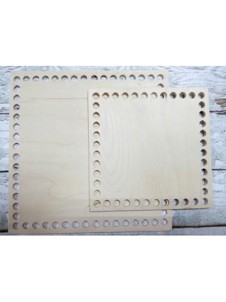 Деревянное донышко для корзины,квадратное, 10*10 см
