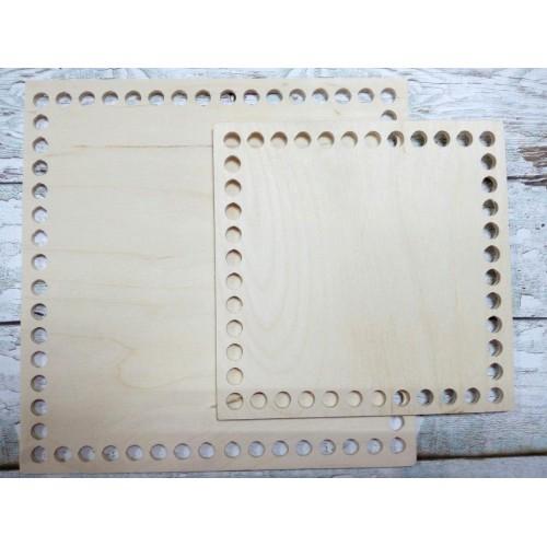 Деревянное донышко для корзины,квадратное, 20*20 см