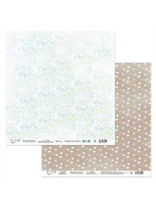 Набор бумаги для скрапбукинга-Лесная поляна 30,5х30,5см