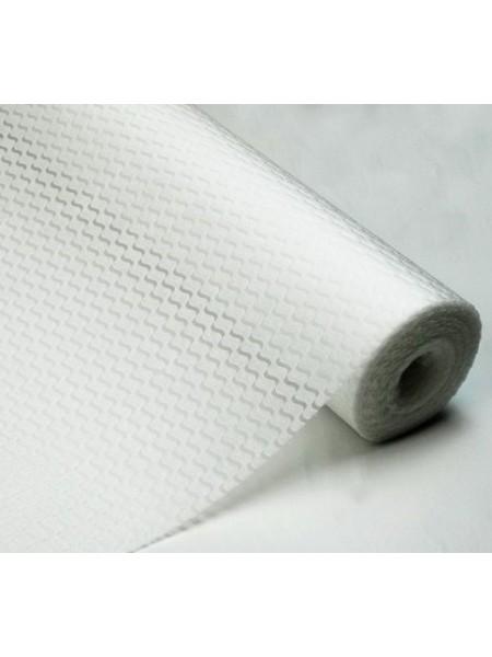 Фетр с тиснением(3D фетр)белый,рис.Волна , цена за 1 метр