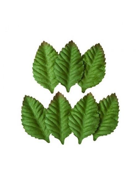 Набор листочков 'Мелкие листья розы', упак-7 шт.