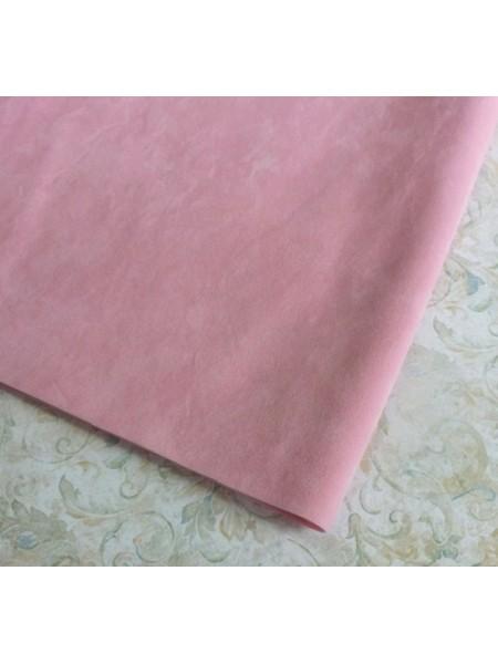 Искусственная замша,18*35см,цв-розовый