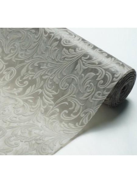 Фетр с тиснением(3D фетр),серый,рис.Ирис , цена за 1 метр