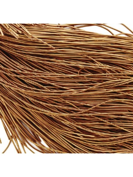 Канитель гладкая ,античное золото,1 мм- 5 гр,№029