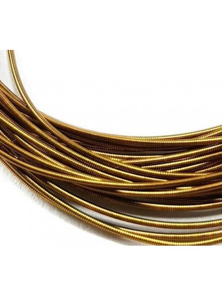 Канитель гладкая,цвет античное золото,1 мм- 5 гр,№156