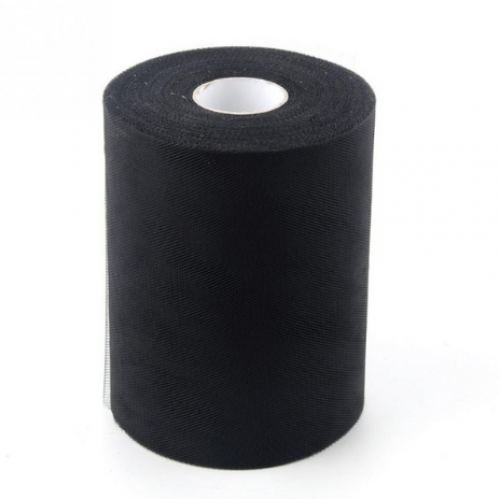 Лента фатиновая, 15 см цв-№-12-чёрный,цена за 1 метр