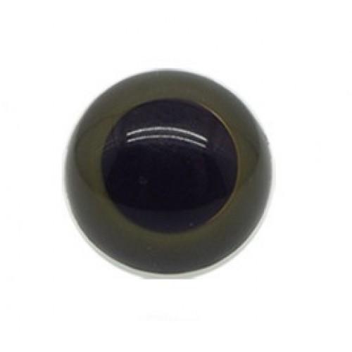 Глазки безопасные,,цв-тёмно-зелёный,23мм,цена за пару