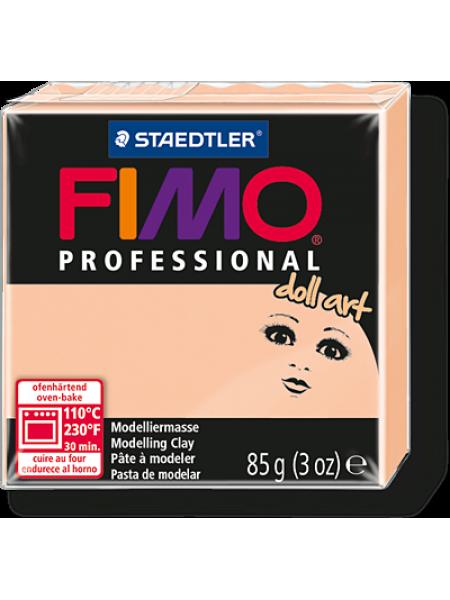 Полимерная глина FIMO professionalс doll art 85гр(Германия)-непрозрачная камея-435