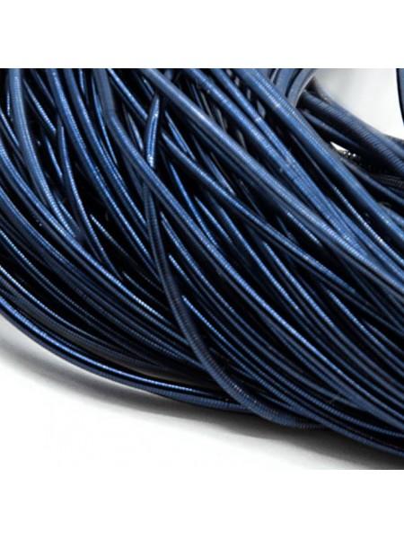 Канитель гладкая ,цвет синий,1 мм- 5 гр,№155
