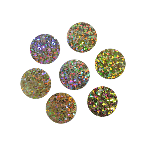 Пайетки крупные,20мм,10гр,цв св-золото голограмма, А300-109