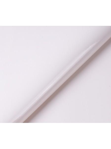 Искусственный лакированный кожзам, цв-топлёное молоко,  32*46 см