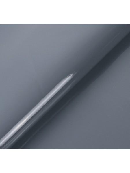 Искусственный лакированный кожзам, цв- серый, 23*32 см