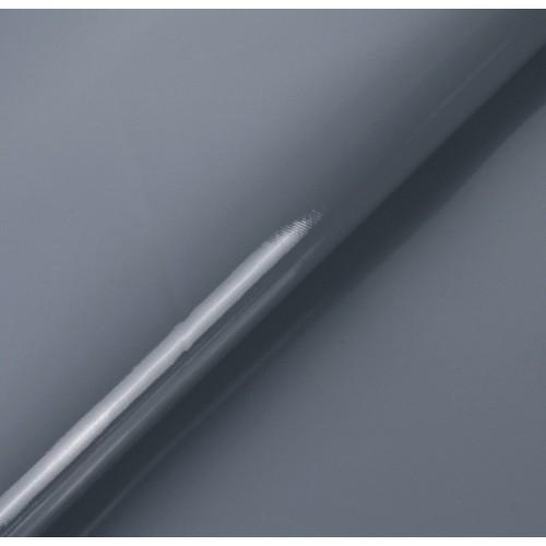 Искусственный лакированный кожзам, цв- серый, 32*46 см