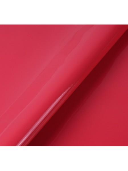 Искусственный лакированный кожзам, цв- малиновый, 23*32 см
