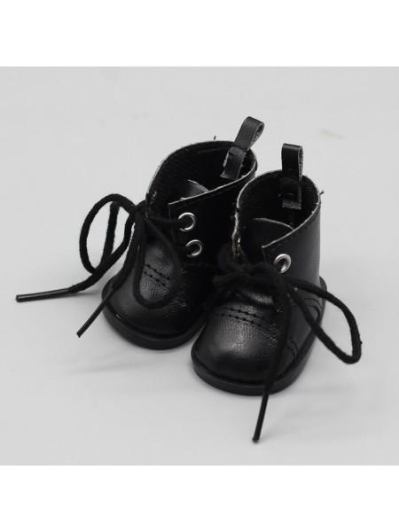 Ботиночки чёрные, 5см