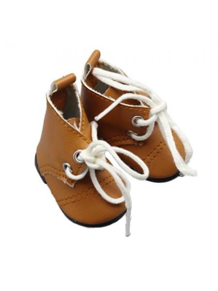 Ботиночки коричневые, 5см