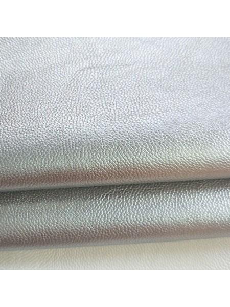 Искусственная кожа -5623,цв.серебро,23*35см