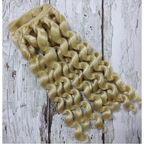 Трессы-завиток(волосы для кукол) -17-18СМ
