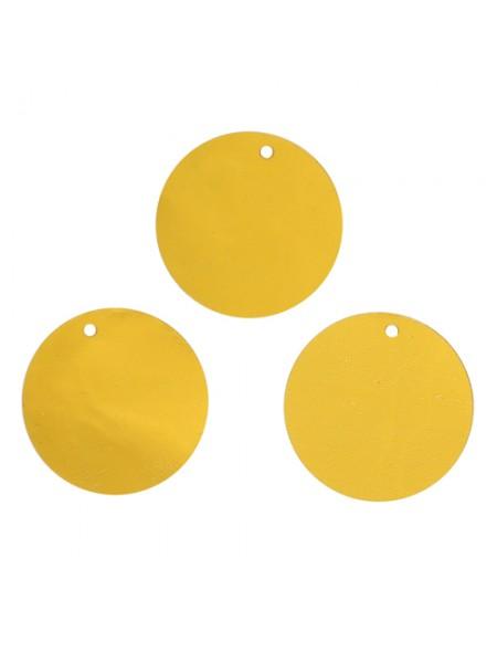 Пайетки крупные,20мм,10гр,цв- золото, А300-а1