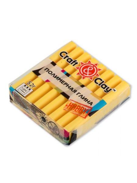 Полимерная глина Craft&Clay,цв- лимонный
