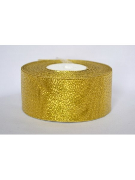 Металлизированная тесьма(парча),цв-золото,4см,цена за 1 метр