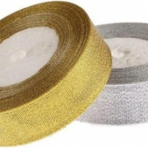 Металлизированная тесьма,золото,2,5см,цена за 1 метр