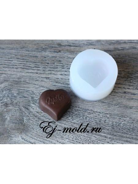 """Силиконовый молд """"конфета Milka"""""""
