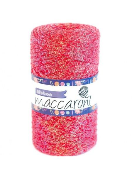 Шнур Ribbon Glitter.цв-красный с перламутром