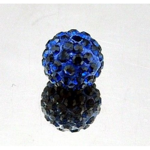 Бусина Шамбала.цв -синий.цена за 1 шт