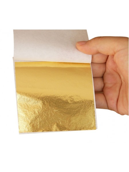 Поталь ,9*9см,цв-золото Цена за 5 шт