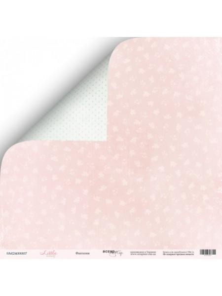 Лист двусторонней бумаги 30x30 от Scrapmir Фантазия из коллекции Little Bunny
