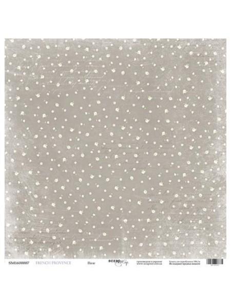Лист односторонней бумаги 30x30 от Scrapmir Поле из коллекции French Provence