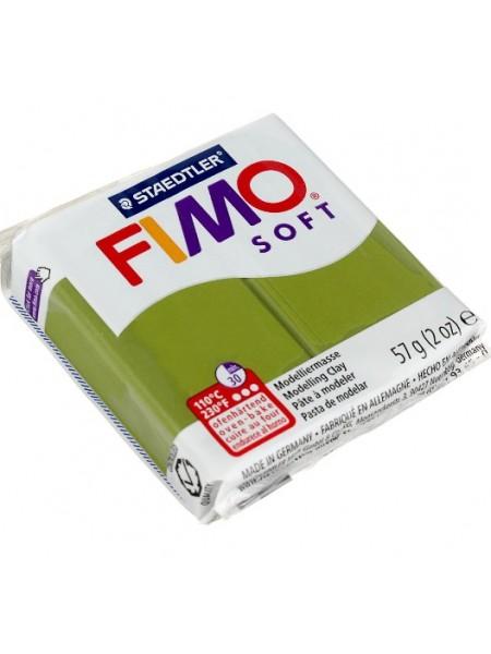 Полимерная глина Фимо FIMO soft -оливковый-57